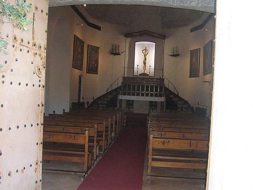 Oratorio de Sant Baldiri, en el cabo de Sant Sebastià, Palafrugell