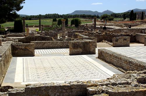 Ruinas de Ampúrias, domus romana