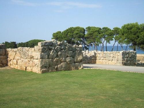 Puerta sur de la muralla de la Neápolis