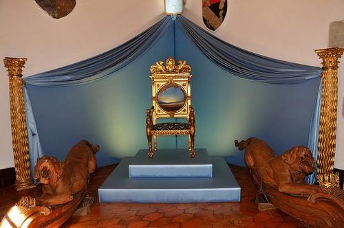 El trono de Gala