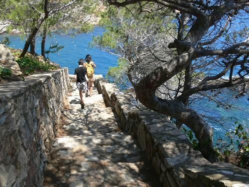 Camino de ronda en Sa Tuna