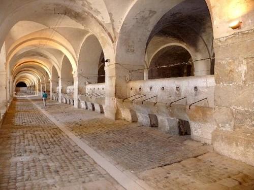 Las cavallerizas del Castillo de Sant Ferran, en Figueres