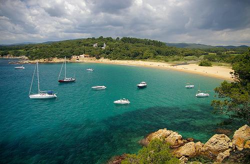 La playa virgen de Es Castell, en Palamós