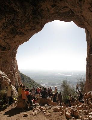 La Cova del Duc ofrece unas maravillosas vistas sobre el mar