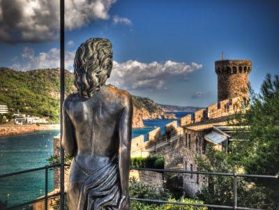 Escultura de Tossa de Mar a la actriz Ava Gardner