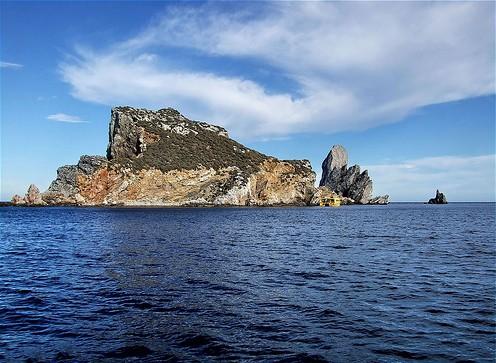 Las Islas Medas, frente a la playa de l'Estartit, Girona, Costa Brava