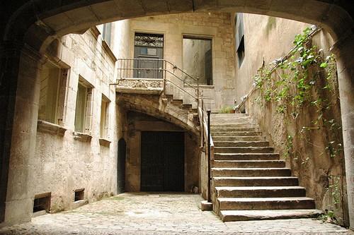 Antigua vivienda judía en el Call de Girona