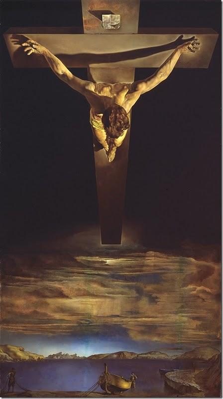 El Cristo de San Juan de la Cruz muestra la influencia de Portlligat en la pintura de Dalí