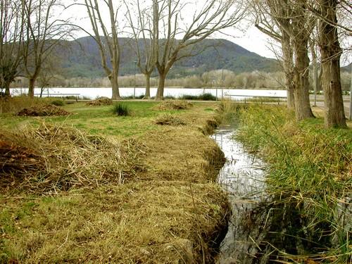 Rec de Can Hort, junto al Lago Banyoles