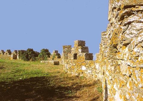 El Castillo de Begur, en Girona, Costa Brava
