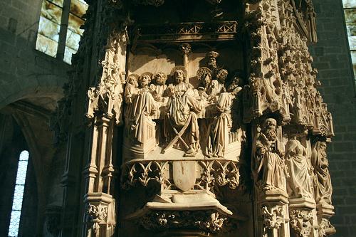 Retablo de la Basílica de Santa Maria, en Castelló d'Empúries