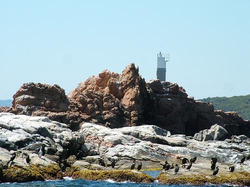 Baliza indicadora de las Islas Formigues