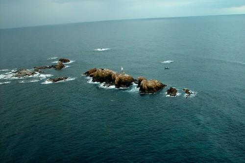 Las Islas Formigues, frente a la costa de Palamós y Calella de Palafrugell