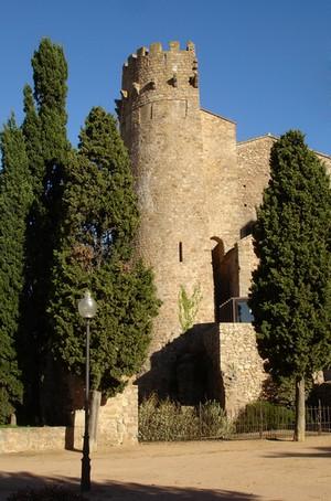 Torre del Fum del Monasterio de Porta Ferrada, en Sant Feliu de Guíxols