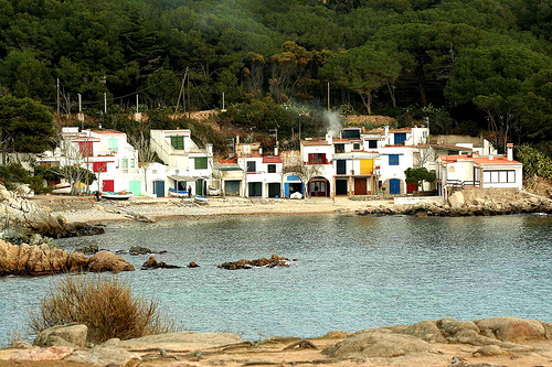 Cala S'Alguer, en Palamós, Girona, Costa Brava
