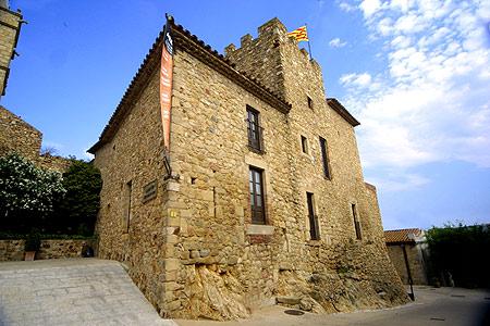 El Castillo de Benedormiens, en Castell d'Aro, Girona