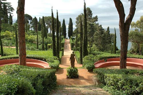 Los Jardines de Santa Clotilde, en Lloret de Mar, Girona, Costa Brava
