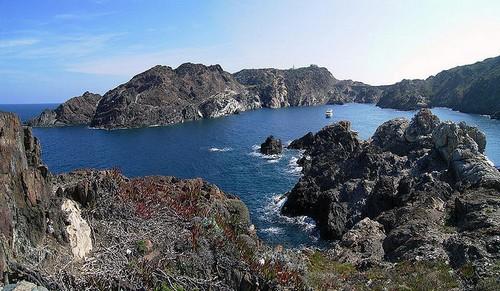 La Cala Culip, en pleno Cap de Creus, cerca de Cadaqués, Costa Brava
