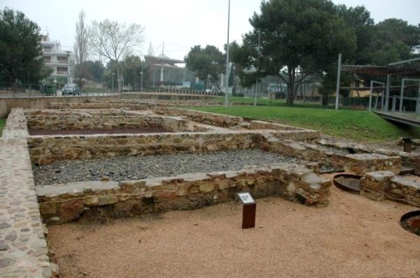 Terrazas y termas son los dos tipos de estancias más comunes en Pla de Palol