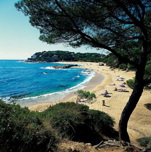 A uno y otro lado de la Playa Sa Conca tienen su inicio caminos de ronda