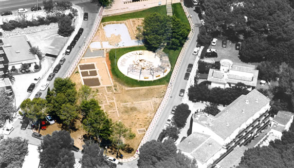 La Villa Romana de Pla de Palol, en Platja d'Aro, Girona, Costa Brava