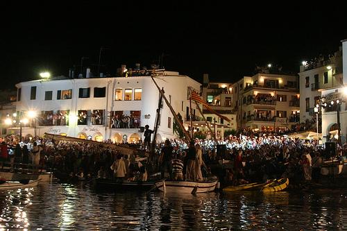 La Cantada de Habaneras se celebra en Calella cada primer fin de semana de julio