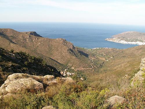 La Vall de la Santa Creu, en pleno Cap de Creus, Port de la Selva, Costa Brava