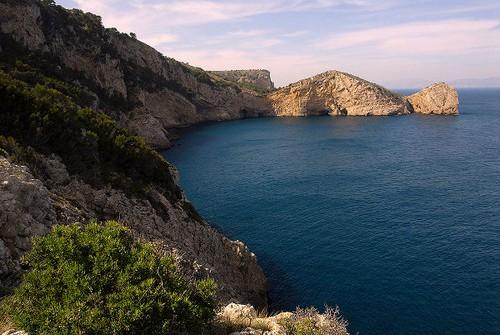 La Reserva Marina de Ses Negres, en Begur, Girona, Costa Brava