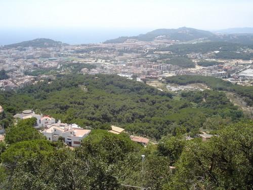 El yacimiento ibérico de Puig Castellet ofrece unas impresionantes vistas sobre Lloret de Mar