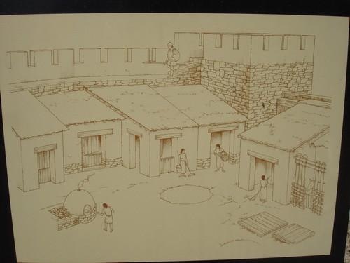 Hoy sabemos que el poblado de Puig Castellet debía ser muy parecido a esta ilustración