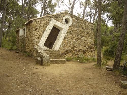 La Barraca d'en Dalí hoy en día, en es Castell, Palamós, Girona, Costa Brava