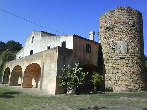 El Mas Juny hoy en día, en Es Castell, Palamós, Costa Brava