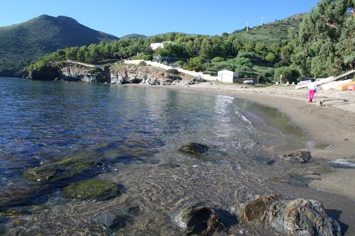 Cala la Pelosa, en Roses, Cabo de Creus, Costa Brava