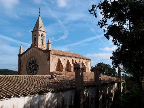 La ermita de Sant Grau d'Ardenya, en Tossa de Mar, Girona, Costa Brava