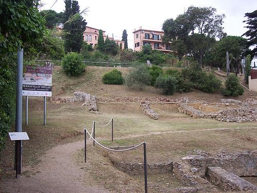 La Villa Romana de Els Ametllers, en Tossa de Mar, permite un recorrido por su yacimiento