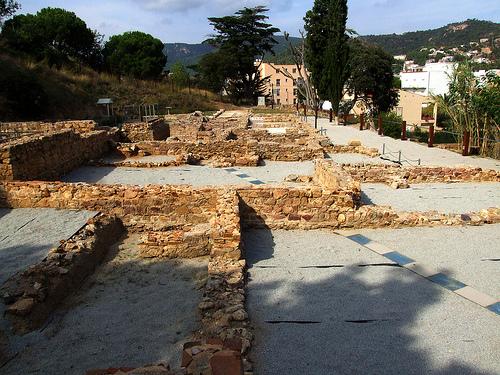 La Villa Romana dels Ametllers muestra una estructura de estancias muy bien definida