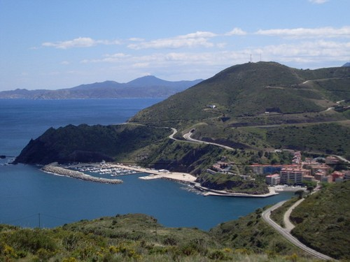Bahía de Portbou, Girona, Costa Brava