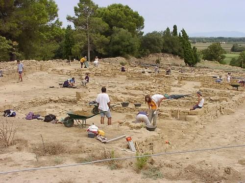 Las excavaciones para desvelar más detalles sobre la vida de los antiguos íberos en Ullastret continúa hoy en día de manera activa