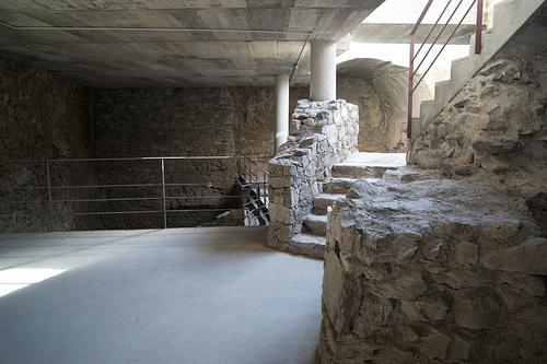 Hoy en día ya es posible visitar el interior del Castillo de la Trinitat, en Roses