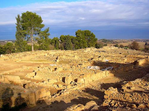 La superfície del poblado de Ullastret es considerable, se trata del mayor yacimiento ibérico de toda Cataluña