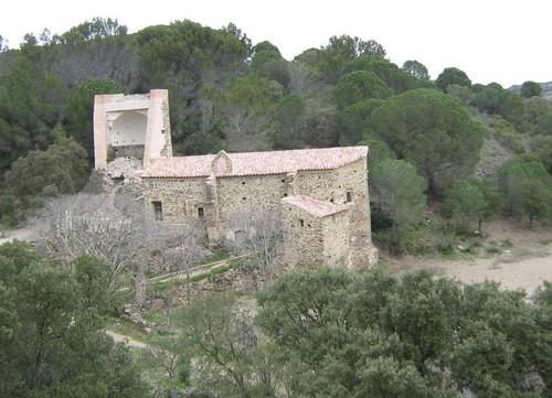 Ermita de Sant Baldiri, cerca de Cala Tavallera, el Port de la Selva