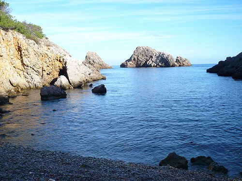 Cala Ferriol, en l'Escala, Costa Brava