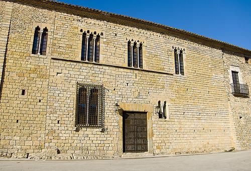 El palacio del Castillo de Peratallada, en Girona, Costa Brava