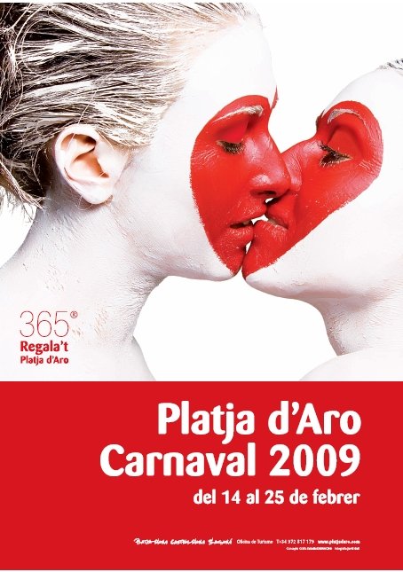 Uno de los carteles más originales del Carnaval de Platja se publicó en el 2009