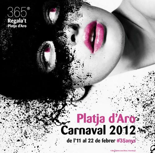 Cartel del Carnaval 2012 de Platja d'Aro, Girona, Costa Brava