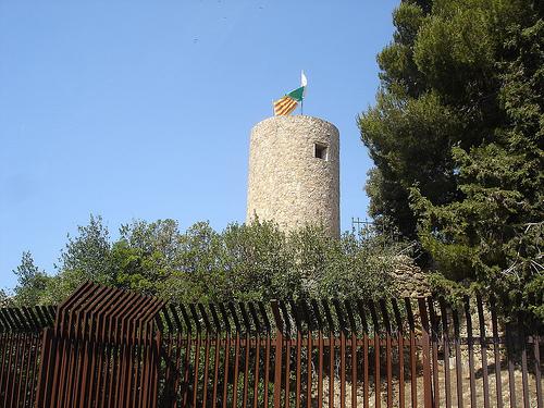 El Castillo de Sant Joan, en Lloret de Mar, Costa Brava