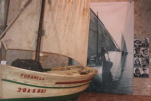 Museo de la Anchoa y la Sal, en l'Escala, Girona, Costa Brava