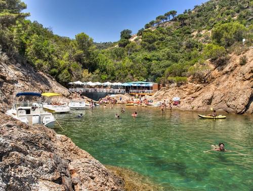 Cala Bona, en Tossa de Mar, Girona, Costa Brava