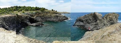 Cala Bramant se encuentra en un entorno virgen y natural, en el norte del Cabo de Creus, Costa Brava