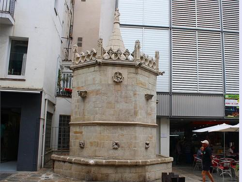 Fuente gótica de Blanes, Costa Brava
